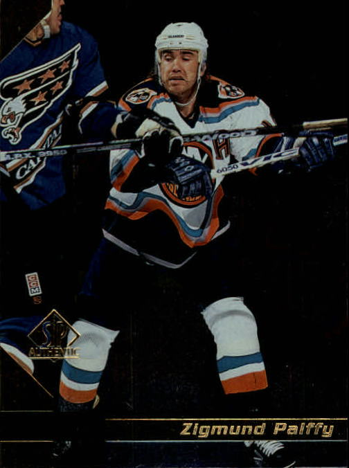 1997-98 SP Authentic #91 Zigmund Palffy