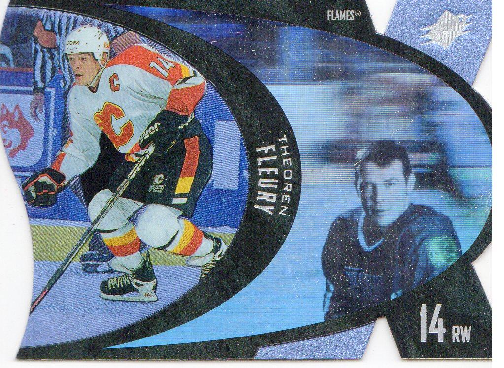 1997-98 SPx #6 Theo Fleury