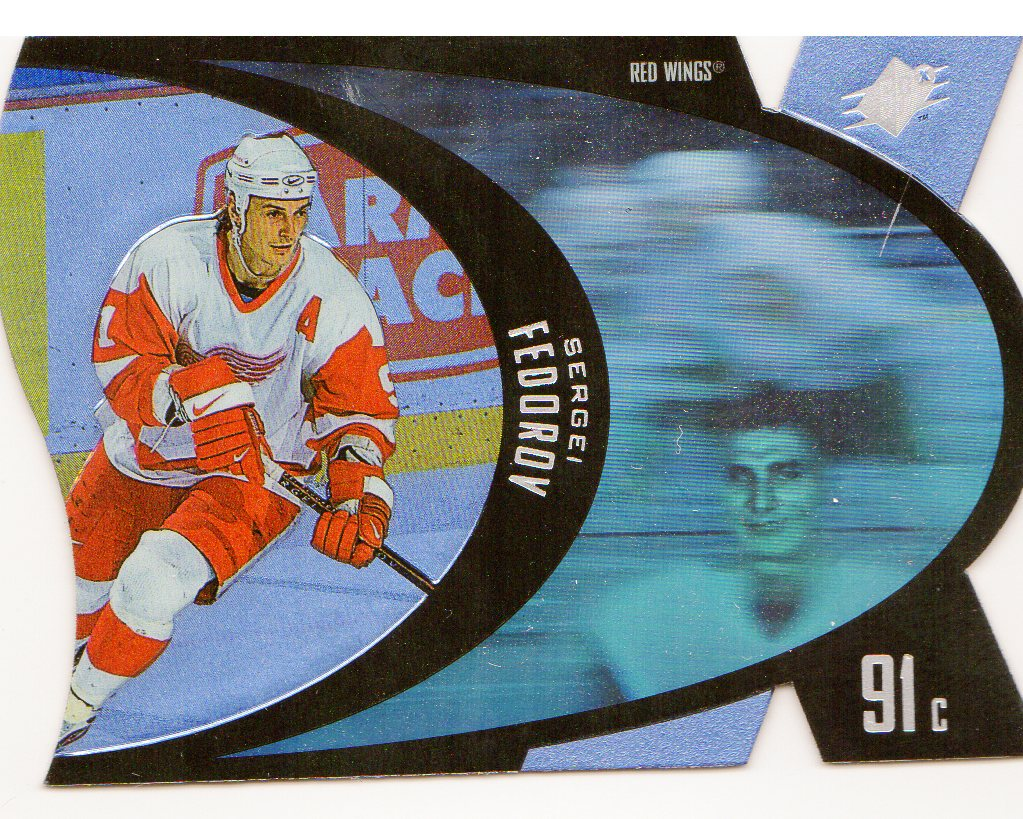 1997-98 SPx #15 Sergei Fedorov