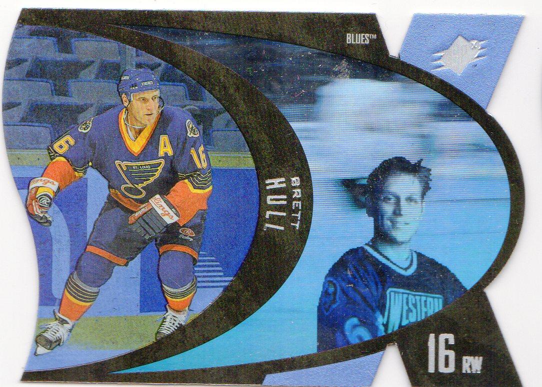 1997-98 SPx #43 Brett Hull