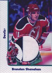 1997-98 Upper Deck Game Jerseys #GJ13 Brendan Shanahan