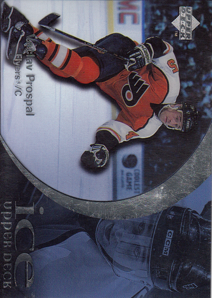 1997-98 Upper Deck Ice #45 Vaclav Prospal RC