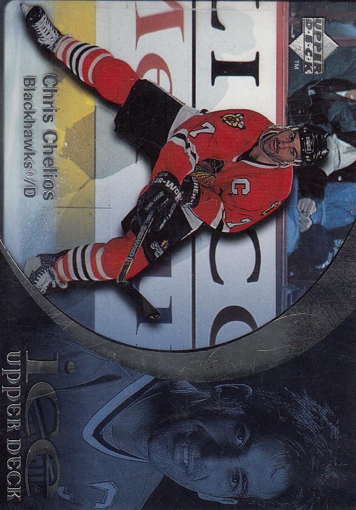 1997-98 Upper Deck Ice #67 Chris Chelios
