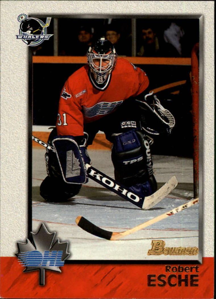 1998 Bowman CHL #1 Robert Esche