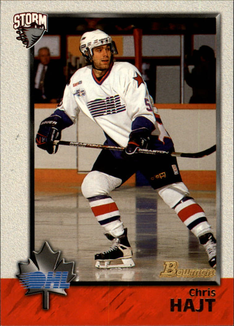 1998 Bowman CHL #2 Chris Hajt