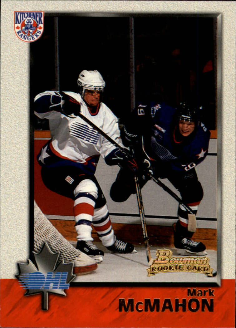 1998 Bowman CHL #3 Mark McMahon