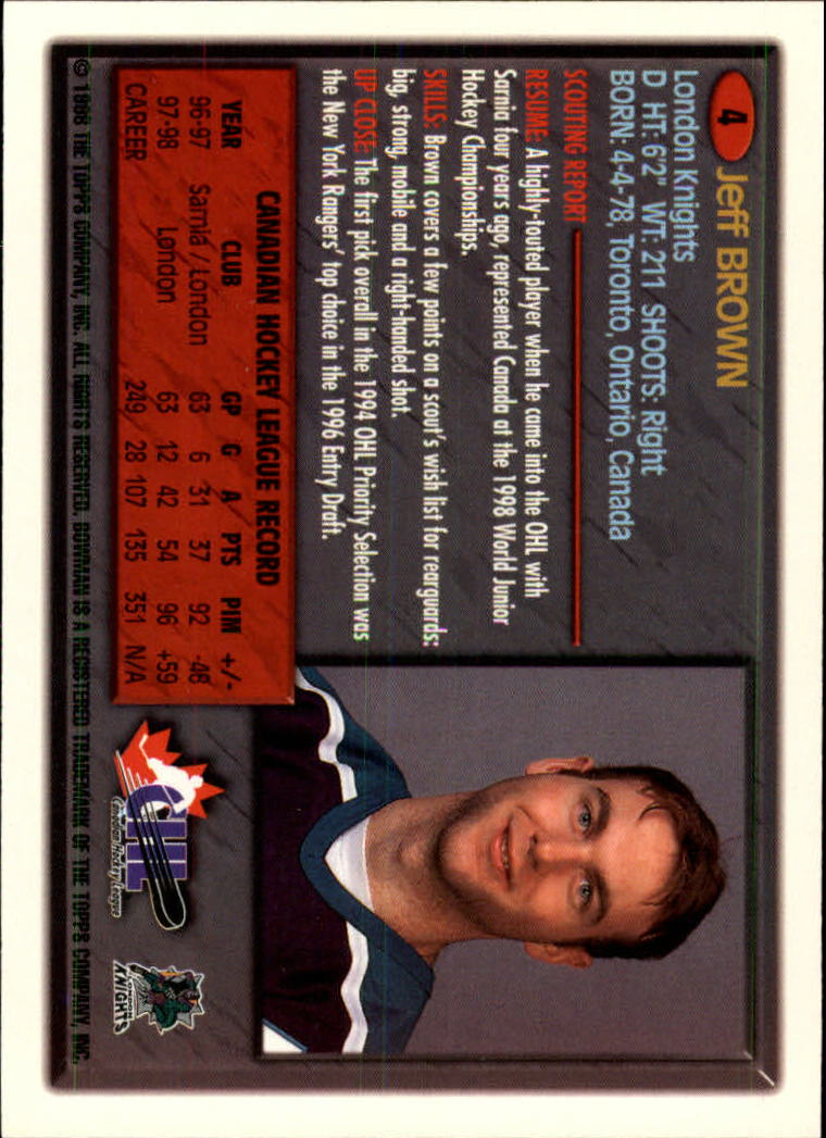Sports Card Back