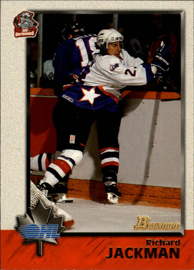 1998 Bowman CHL #5 Richard Jackman