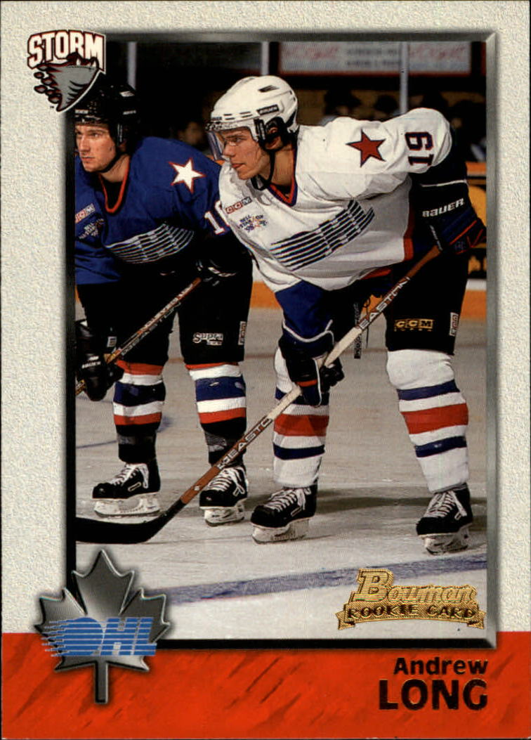 1998 Bowman CHL #17 Andrew Long
