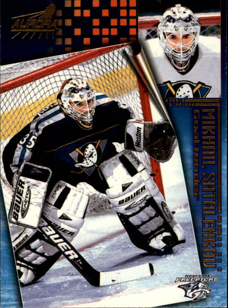 1998-99 Aurora #104 Mikhail Shtalenkov