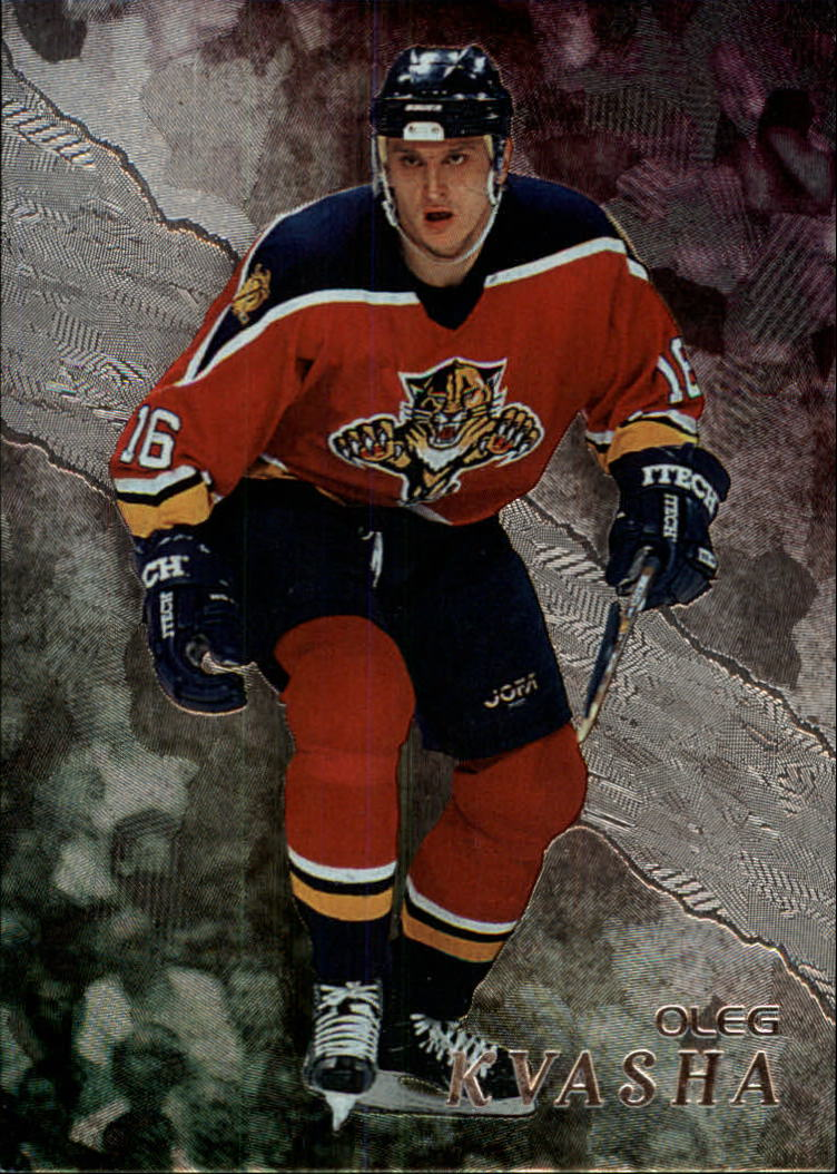 1998-99 Be A Player #210 Oleg Kvasha RC
