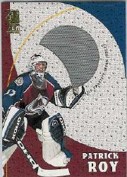 1998-99 Be A Player Playoff Practice Used Jerseys #P16 Patrick Roy