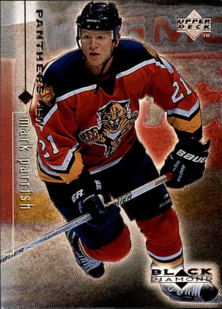 1998-99 Black Diamond #38 Mark Parrish RC
