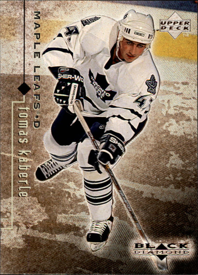 1998-99 Black Diamond #82 Tomas Kaberle RC