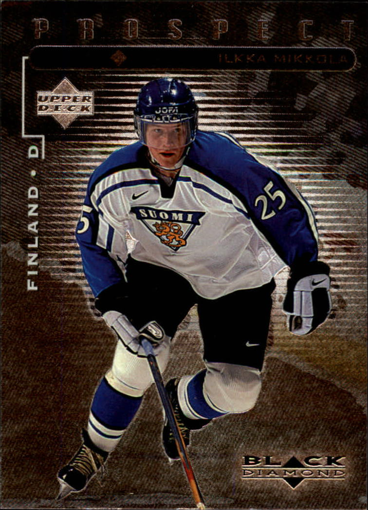 1998-99 Black Diamond #98 Iikka Mikkola SP RC