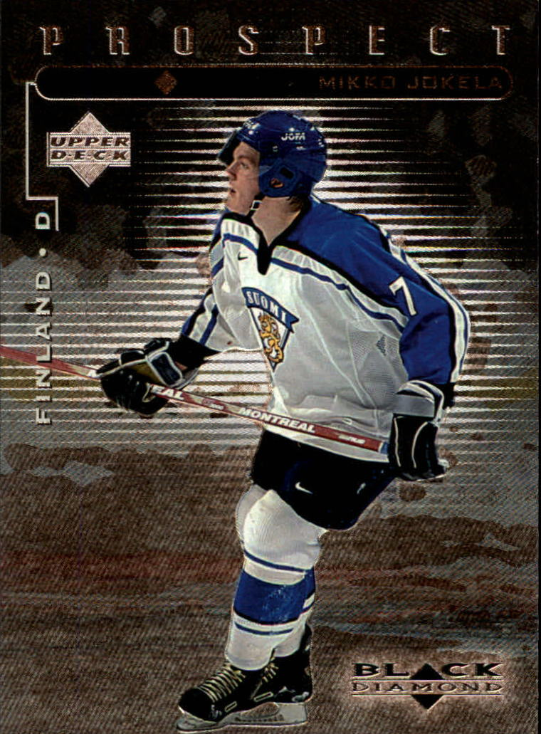 1998-99 Black Diamond #99 Mikko Jokela SP RC