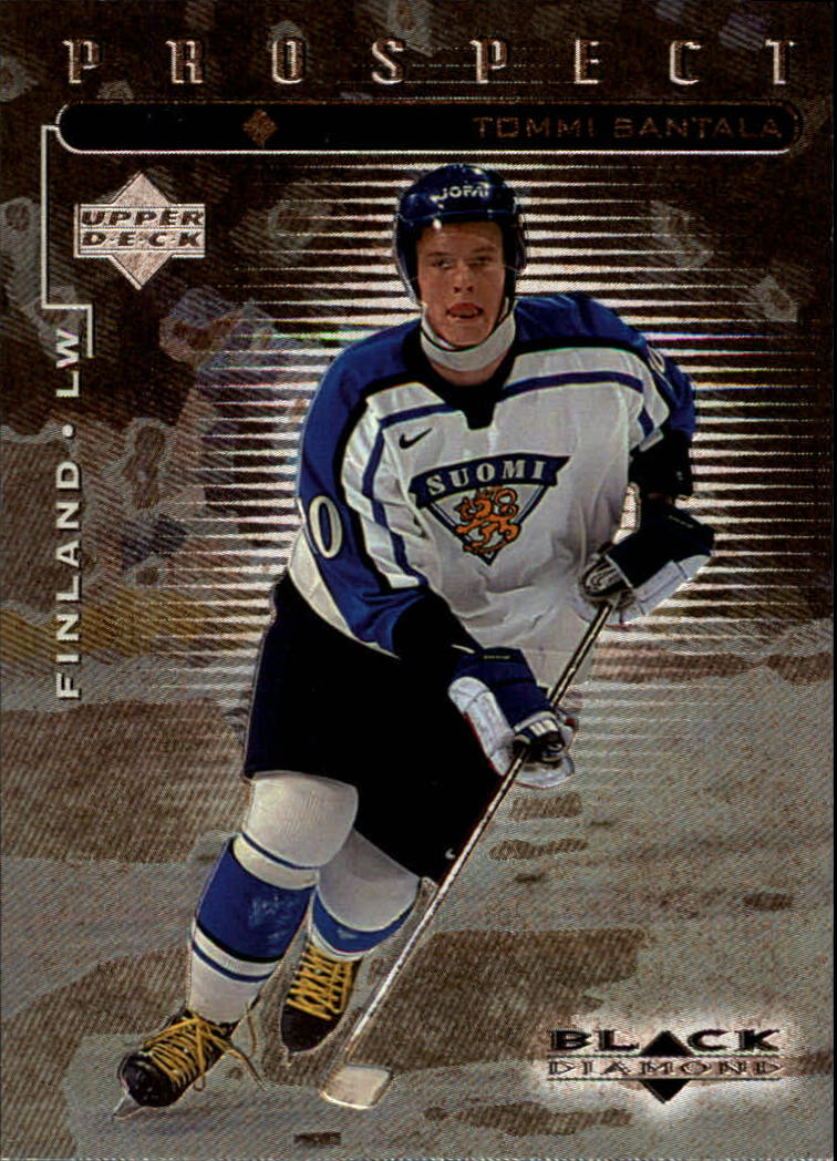 1998-99 Black Diamond #100 Tommi Santala SP RC