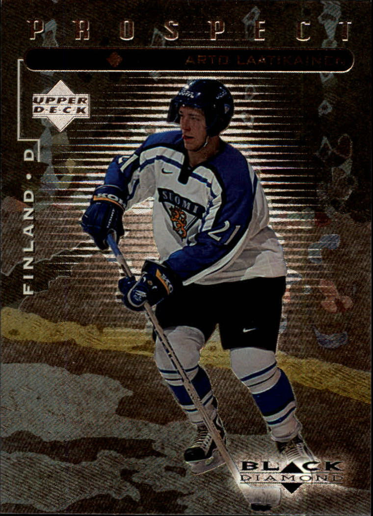 1998-99 Black Diamond #102 Arto Laatikainen SP RC