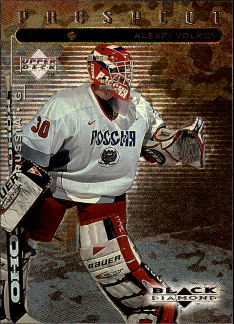 1998-99 Black Diamond #104 Alexei Volkov SP RC