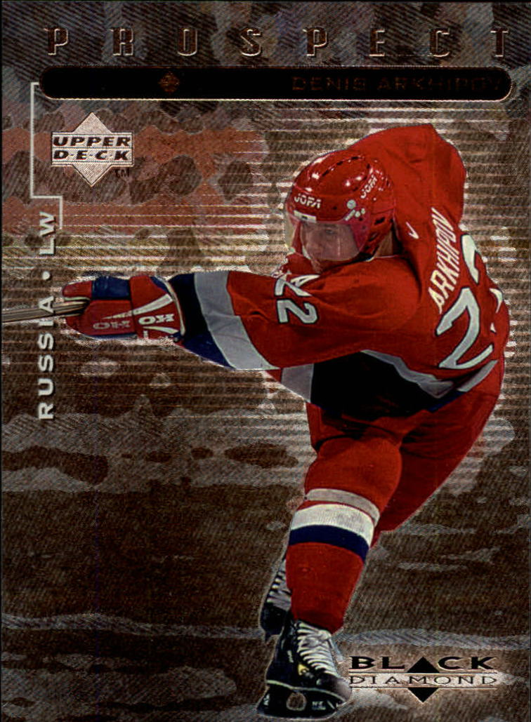 1998-99 Black Diamond #105 Denis Arkhipov SP RC