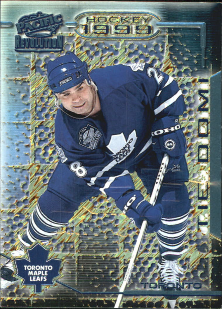 1998-99 Revolution Ice Shadow #136 Tie Domi