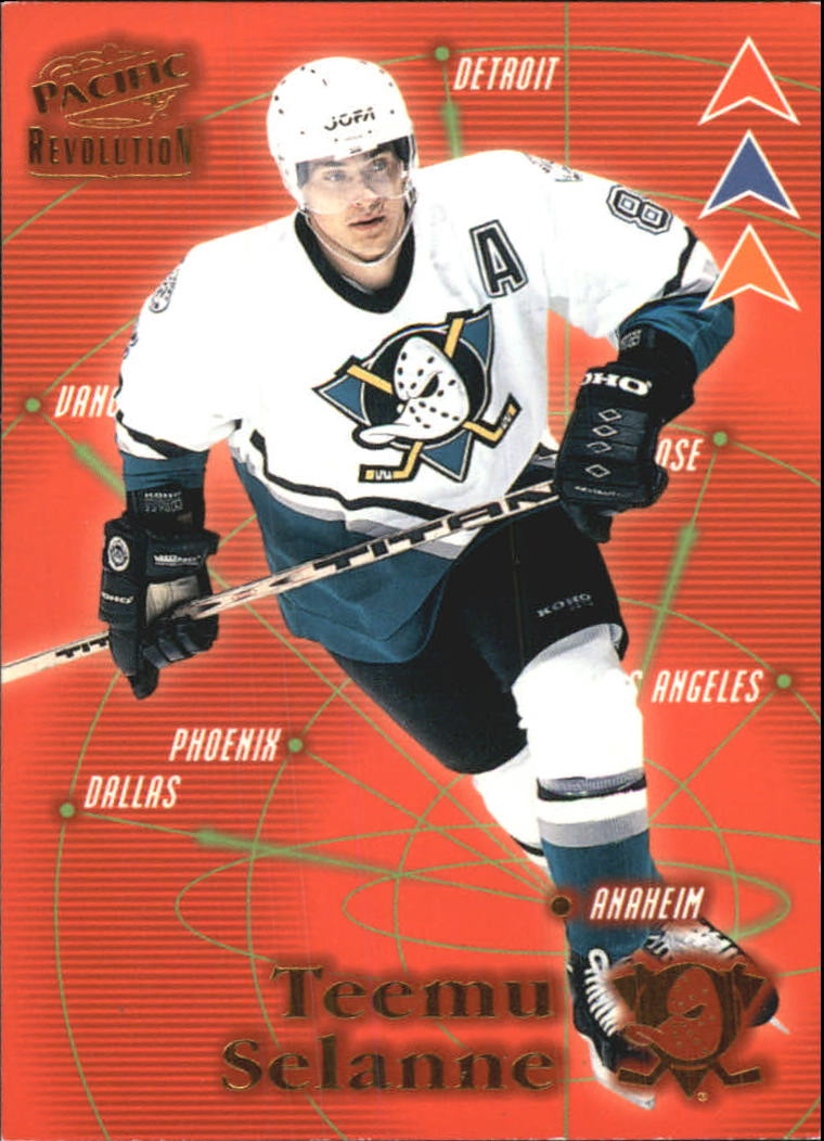 1998-99 Revolution Three Pronged Attack #22 Teemu Selanne