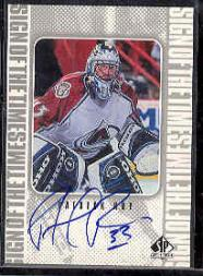 1998-99 SP Authentic Sign of the Times #PR Patrick Roy