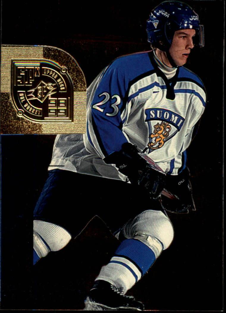 1998-99 SPx Top Prospects #69 Teemu Virkkunen RC