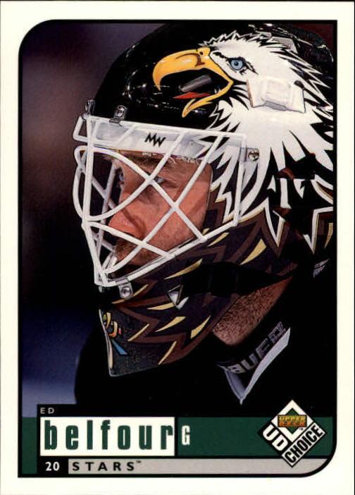 1998-99 UD Choice #63 Ed Belfour