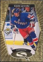 1998-99 UD Choice StarQuest Gold #SQ1 Wayne Gretzky