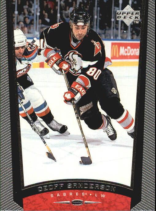 1998-99 Upper Deck #45 Geoff Sanderson