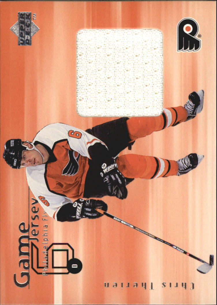 1998-99 Upper Deck Game Jerseys #GJ21 Chris Therien