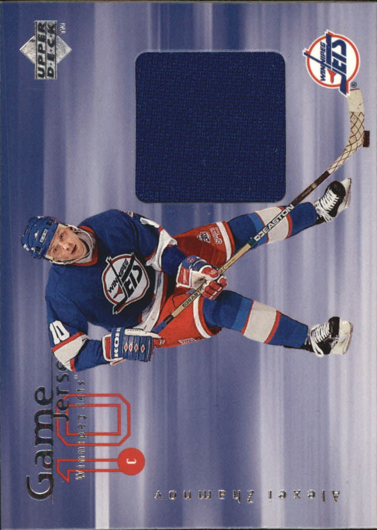 1998-99 Upper Deck Game Jerseys #GJ23 Alexei Zhamnov