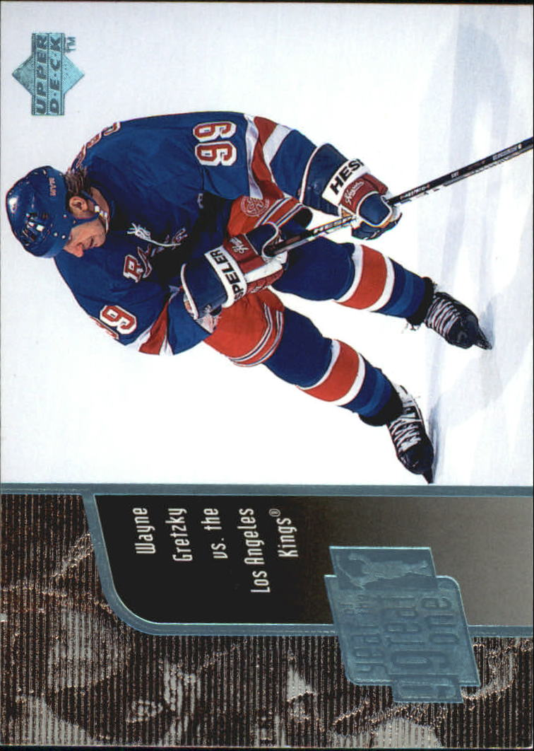 1998-99 Upper Deck Year of the Great One #GO13 Wayne Gretzky