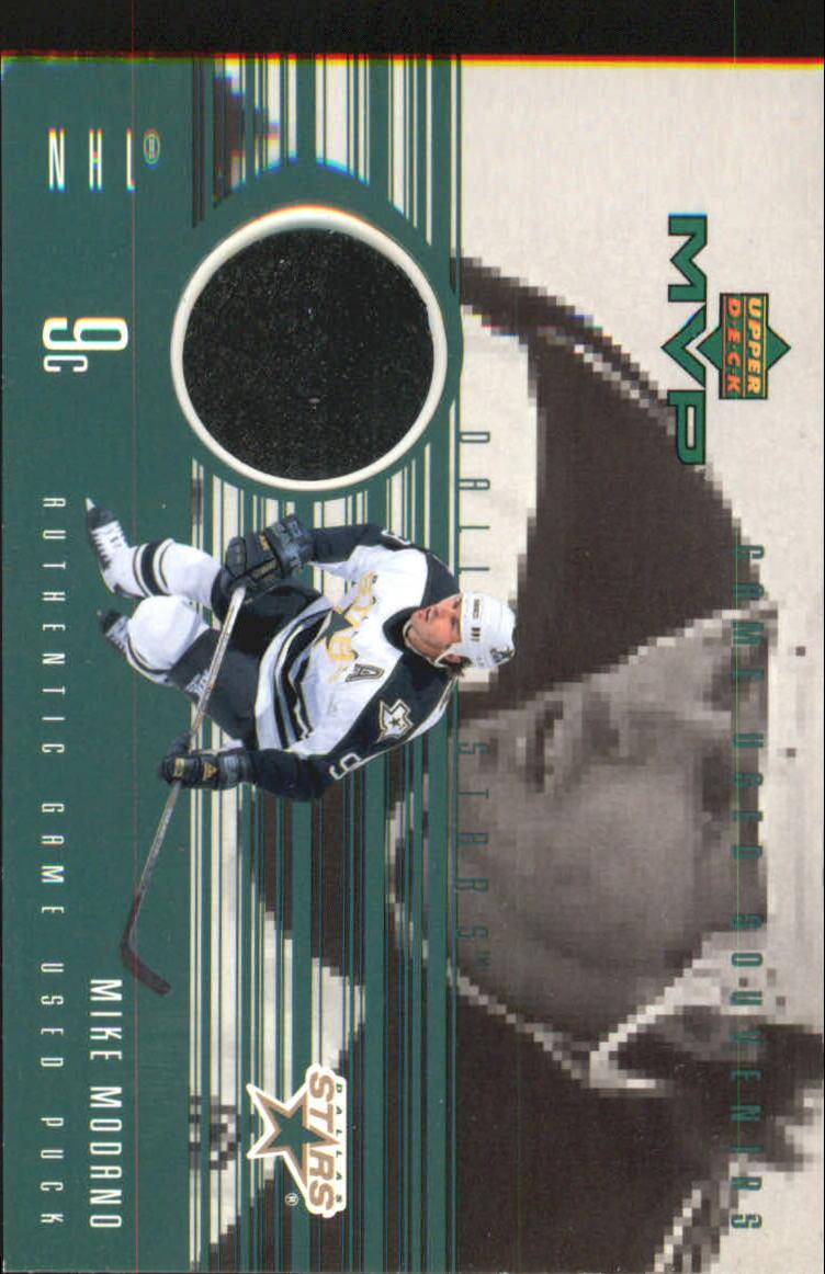 1998-99 Upper Deck MVP Game Souvenirs #MM Mike Modano