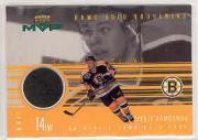 1998-99 Upper Deck MVP Game Souvenirs #SS Sergei Samsonov