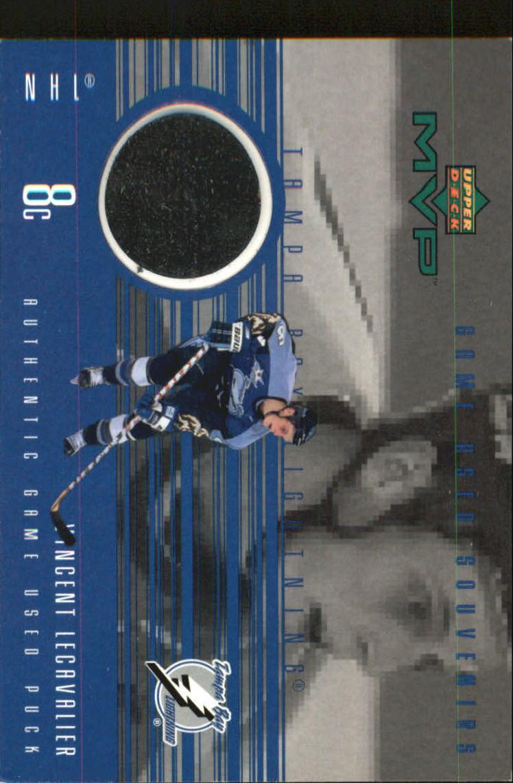 1998-99 Upper Deck MVP Game Souvenirs #VL Vincent Lecavalier