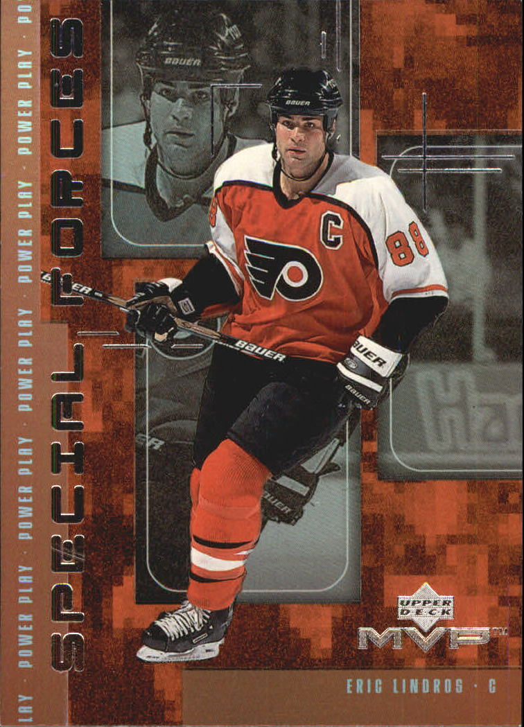 1998-99 Upper Deck MVP Special Forces #F5 Eric Lindros
