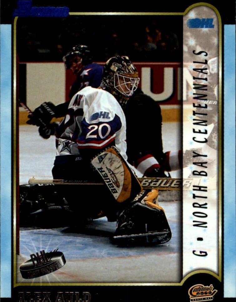 1999 Bowman CHL #1 Alex Auld