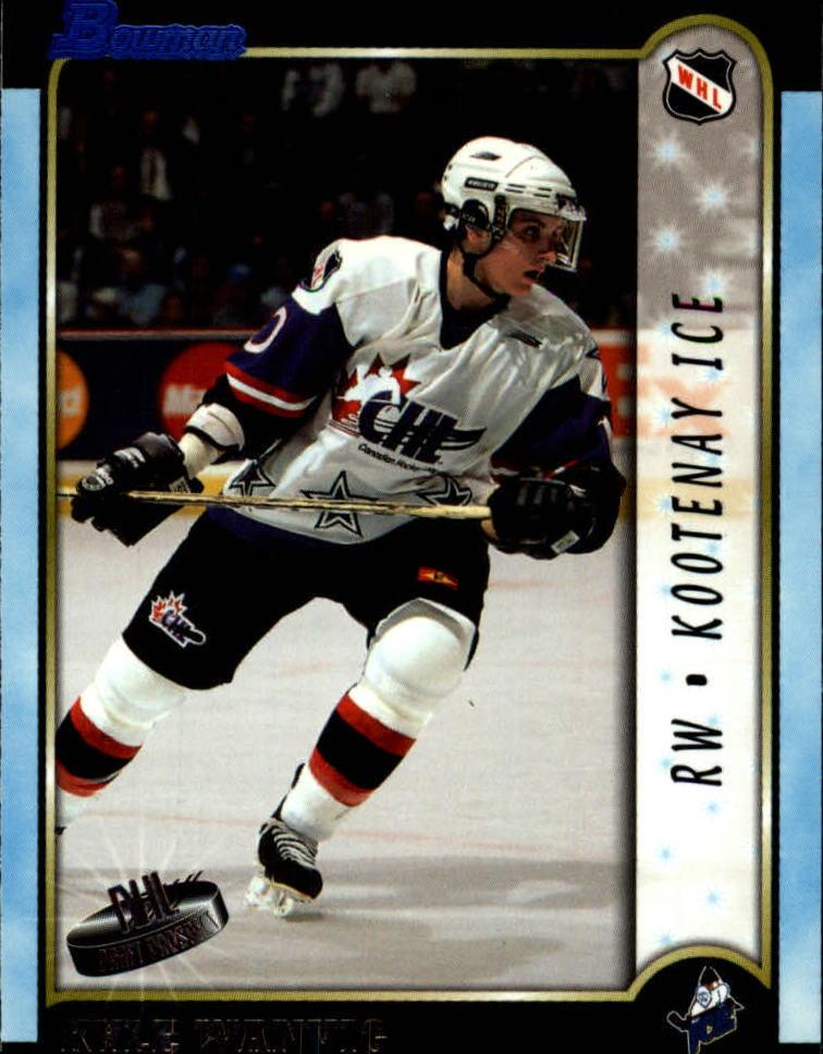 1999 Bowman CHL #7 Kyle Wanvig