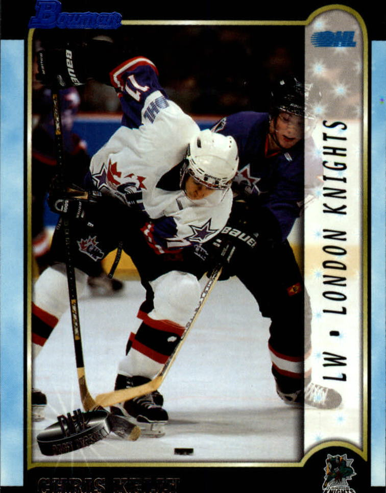 1999 Bowman CHL #8 Chris Kelly