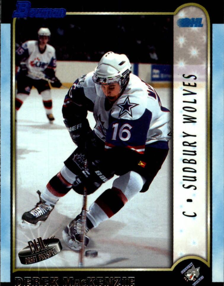 1999 Bowman CHL #10 Derek MacKenzie