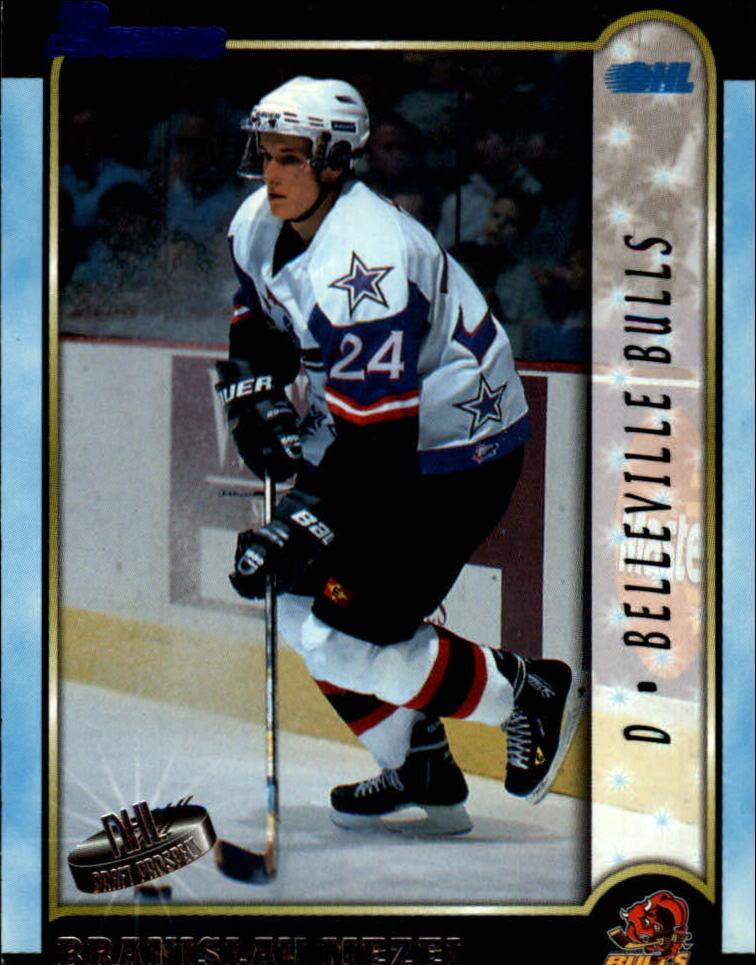 1999 Bowman CHL #15 Branislav Mezei