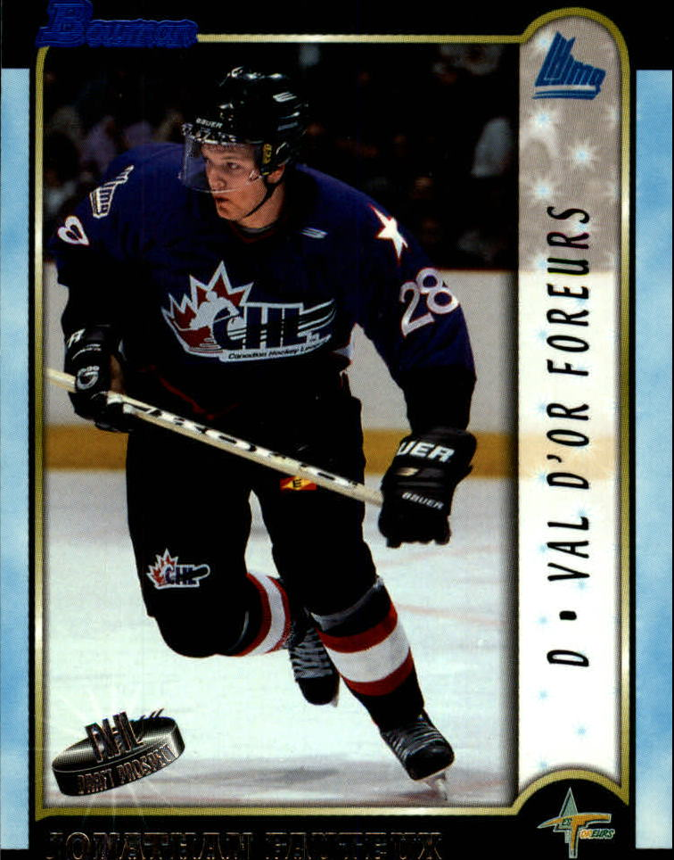 1999 Bowman CHL #25 Jonathan Fauteux