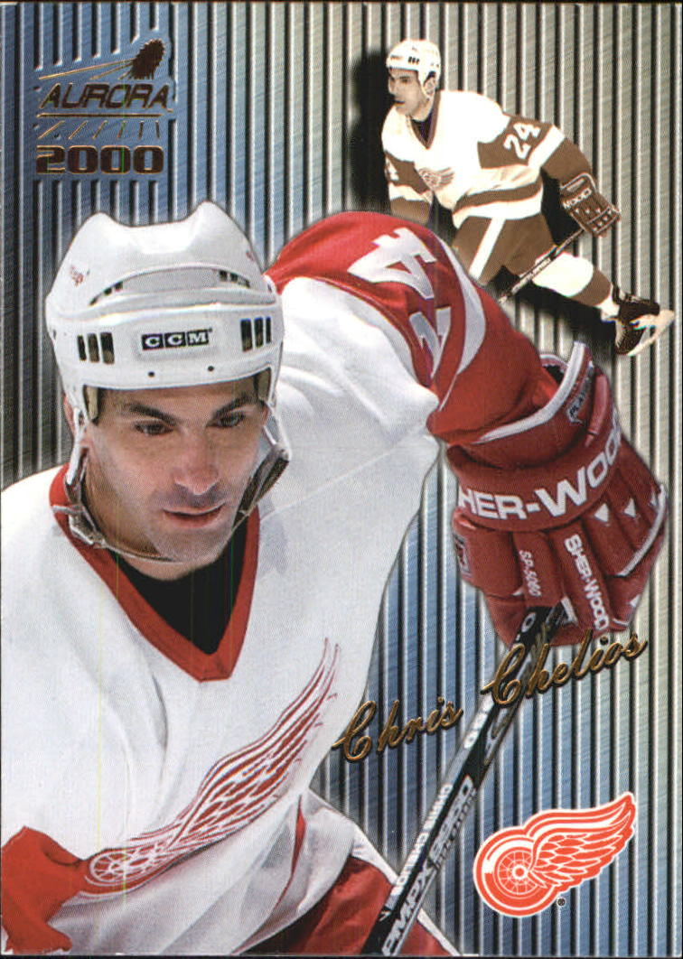 1999-00 Aurora Striped #49 Chris Chelios