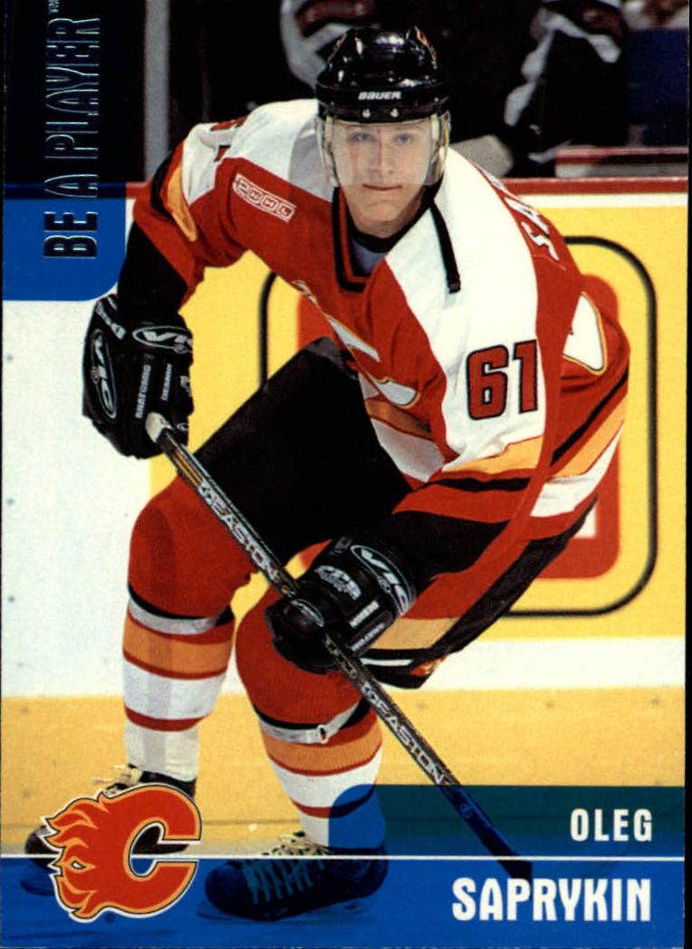1999-00 BAP Memorabilia #215 Oleg Saprykin RC