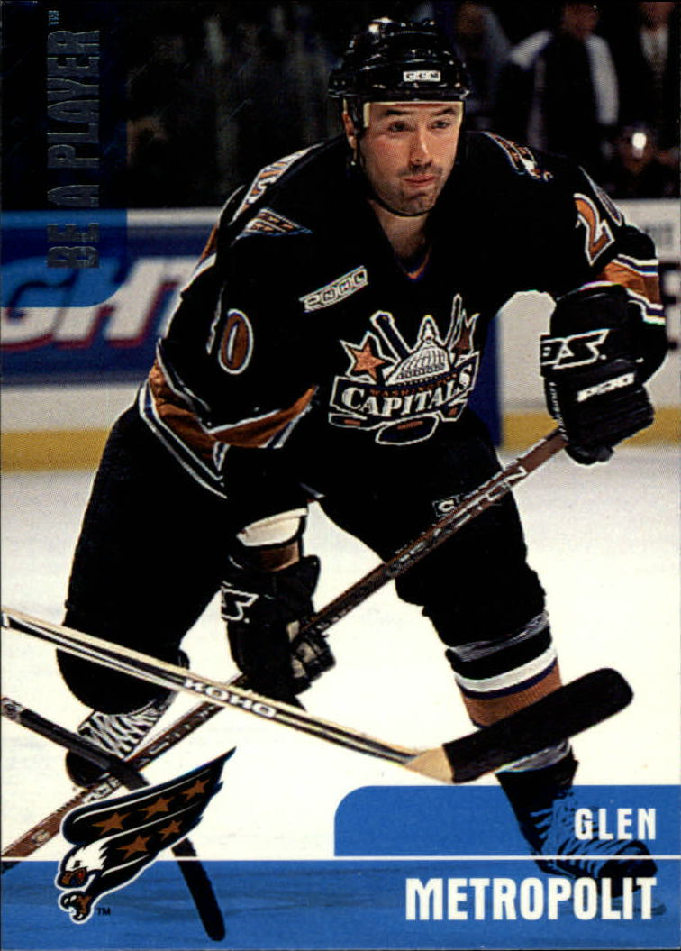 1999-00 BAP Memorabilia #303 Glen Metropolit RC