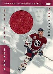 1999-00 BAP Memorabilia Jersey #J16 Brian Leetch