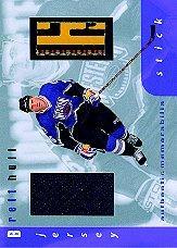 1999-00 BAP Memorabilia Jersey and Stick #S12 Brett Hull
