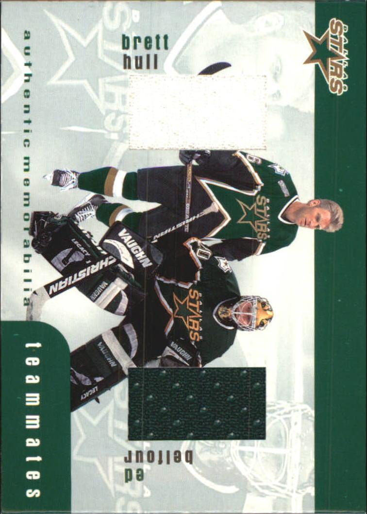 1999-00 BAP Update Teammates Jerseys #TM47 Brett Hull/Ed Belfour